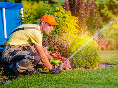 houston tx lawn sprinkler system